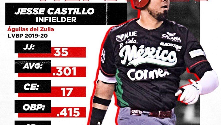 El Escogido anuncia contratación de Jesse Castillo