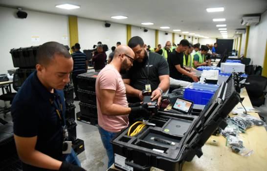 JCE inicia despacho de equipos a utilizar para elecciones