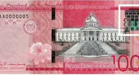 Banco Central emite nuevo billete de 1000