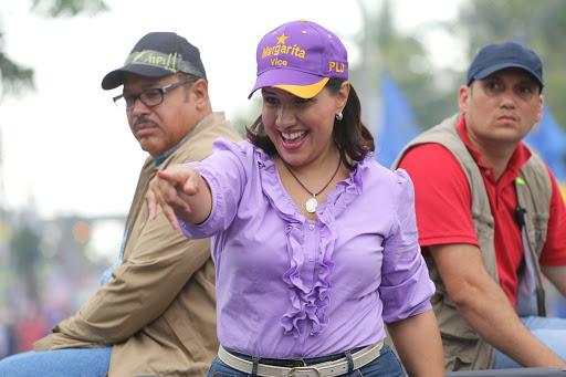 Margarita Cedeño menciona nombre de Leonel tras referirse al triunfo del PLD