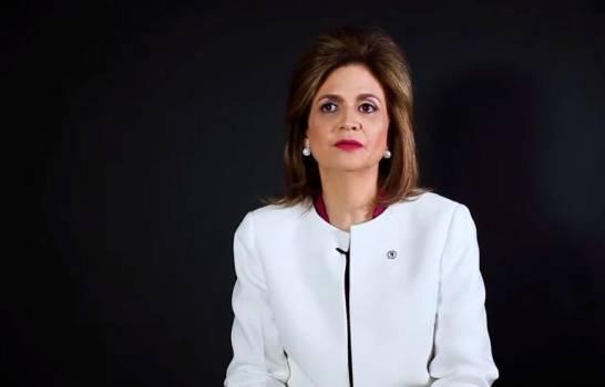 Raquel Peña es la compañera de boleta de Abinader