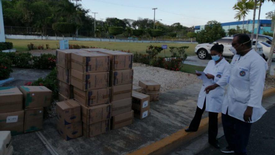 SNS distribuye equipos de proteccción personal