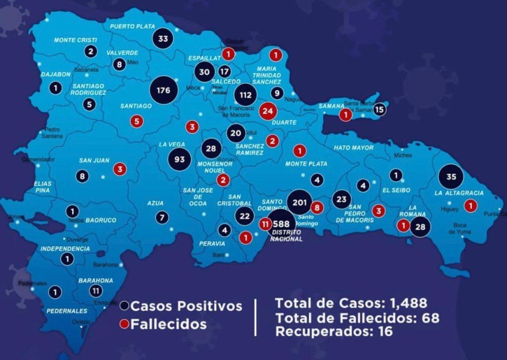 ¿Cuáles provincias tienen circulación comunitaria del COVID-19?