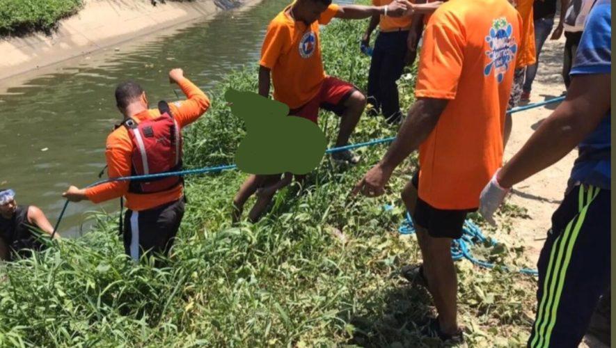 Niño desaparecido en Santiago fue encontrado ahogado en un canal