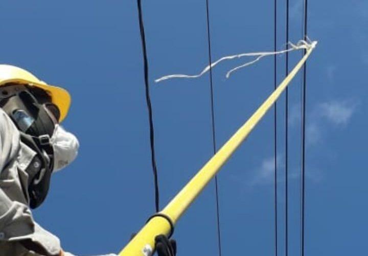 Empresa de transmisión eléctrica exhorta evitar el uso de chichiguas