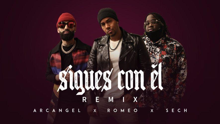 """Romeo se une a Sech en el remix de la canción """"Sigues con él"""""""