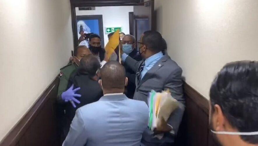 Se registró un incidente en la Cámara de Diputados con el legislador Pedro Botello