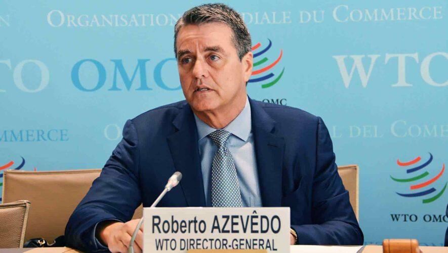 En medio de pandemia el director de la OMC anuncia su renuncia