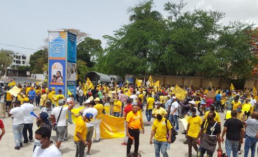 Marcha a favor de la entrega del 30% del Fondo de Pensiones