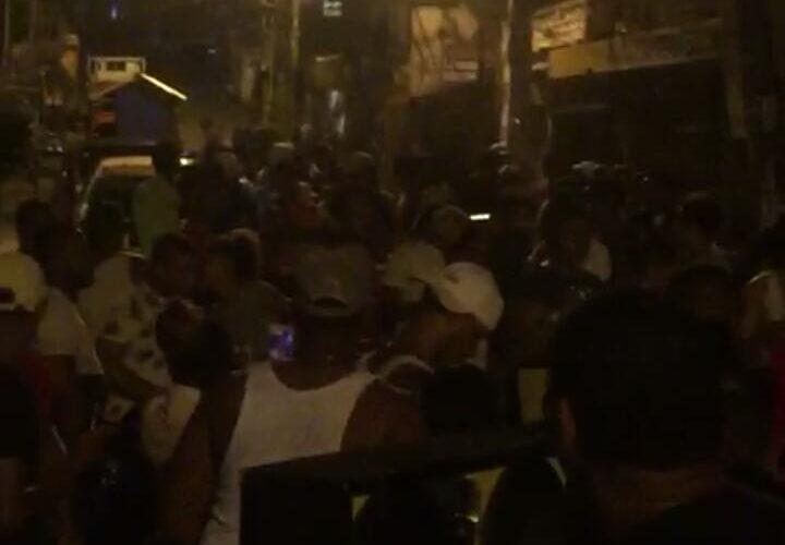 Desorden en el Gran Santo Domingo tras vencer toque de queda