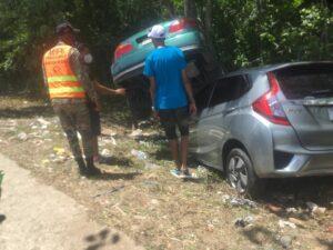 Accidente en la Jacobo Majluta deja dos heridos