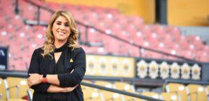 Iliana Rosario nueva directora de comunicaciones de las Águilas Cibaeñas