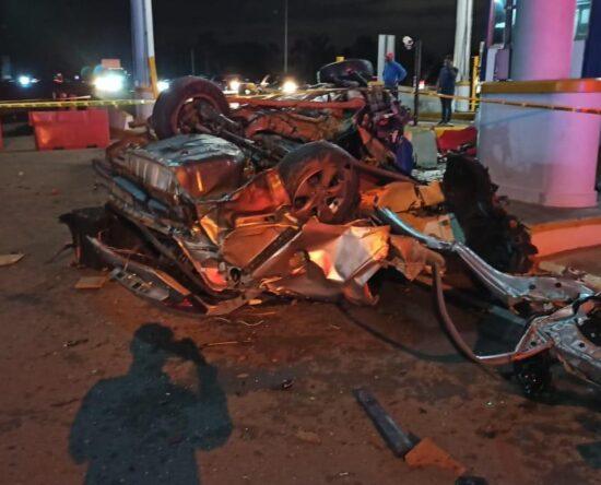Al menos dos muertos tras accidente de tránsito en Santiago