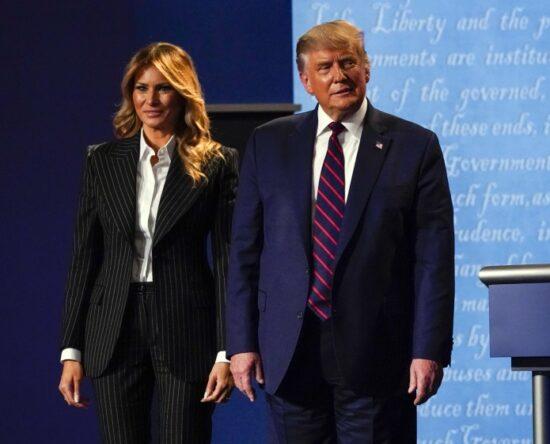 Donald Trump y su esposa dan positivo al Covid-19