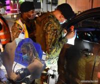 La Amenazzy fue detenido por violar toque de queda