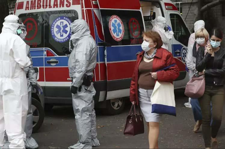 Se registra nuevo record de contagios en Polonia