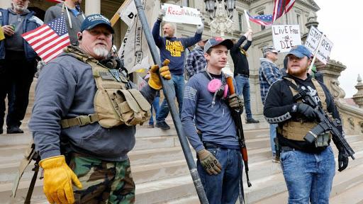 Grupos armados en Georgia advierten si Trump no es reelegido «saldrán a las calles»
