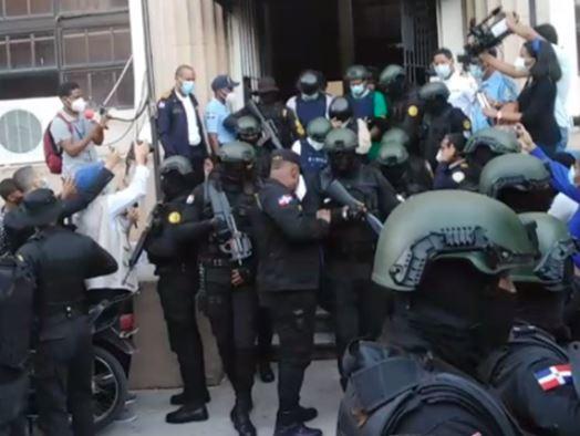 Siete de los imputados caso Antipulpo fueron trastalados a Najayo Hombres