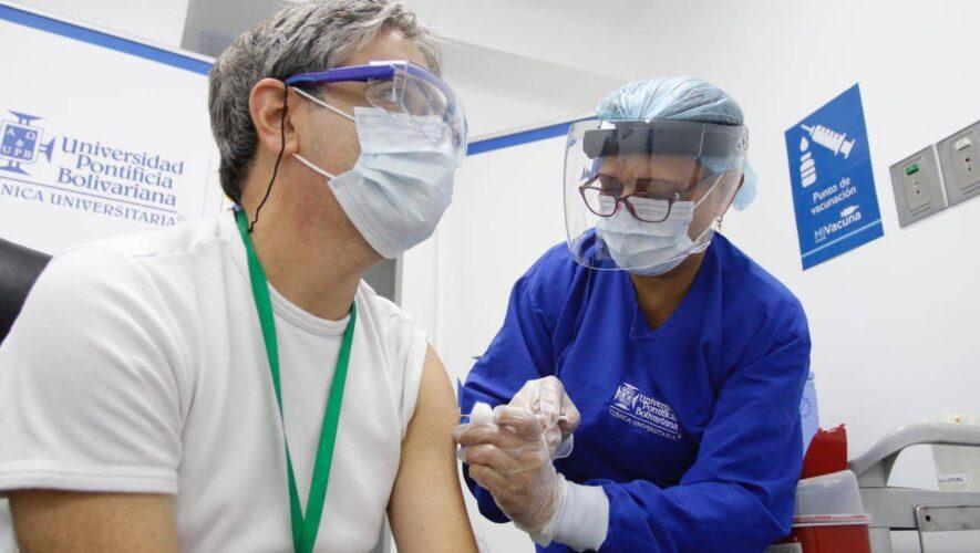 Alrededor de 18 provincias recibieron vacunas contra el Covid