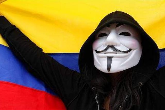 Anonymous es el responsable del hackeo de la página del ejército colombiano