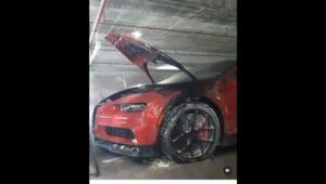DEA está investigando caso de ataque al Bugatti de El Alfa