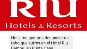 Huésped denuncia robo en hotel Riu Bambú Punta Cana